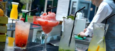Drinks at Al Mawal Dubai