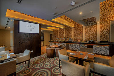 Club Lounge at Ghaya Grand Hotel Dubai