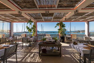Desayuno del Hotel Club Marítimo de Sotogrande en Cádiz