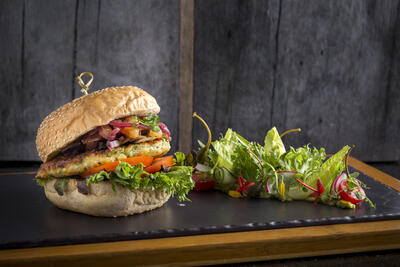 The Retreat - Veggie Burger