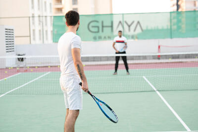 Tennis Court at Ghaya Grand Hotel Dubai