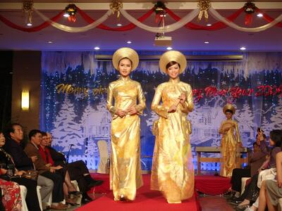 Halong Plaza Hotel Event - Performance at gala dinner
