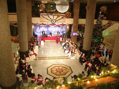 Halong Plaza Hotel Event - Christmas n New Year gala dinner