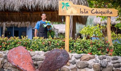 Isla Chiquita Welco Welcome