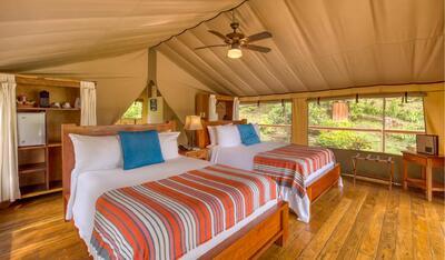 Glamping Tent Queen Beds