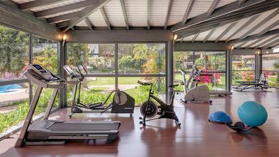 gym at Precise Resort El Rompido