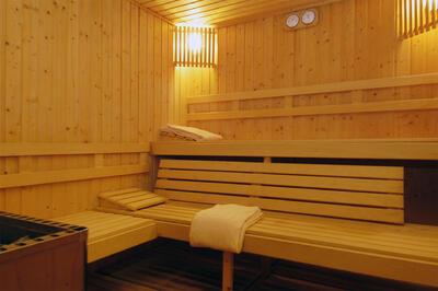 sauna at Precise Resort El Rompido