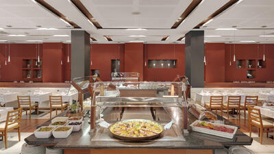 buffet restaurant at Precise Resort El Rompido