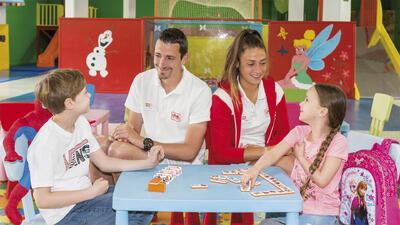 kids club at Precise Resort El Rompido