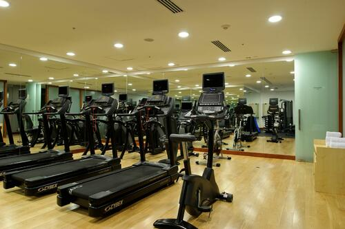 indoor Gym room for fitness at NOI Vitacura hotel