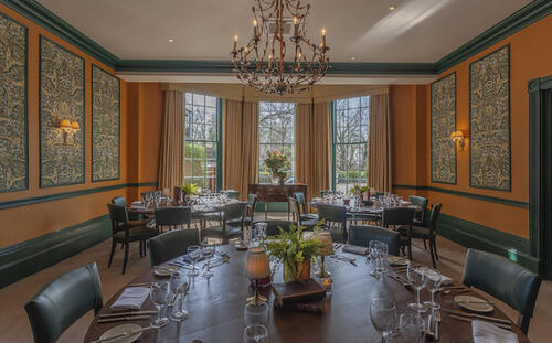 Private dining at Richmond Hill Hotel
