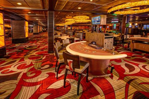 poker tables in casino