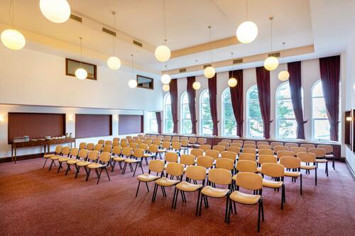 Meeting Room With Large Windows