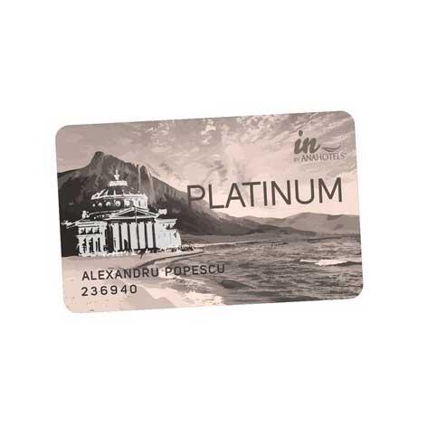 Card Platinum la Ana Hotels în Romania