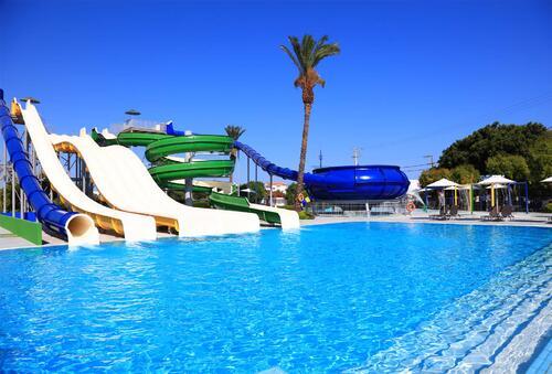 Pool At The Aquapark At Labranda Blue Bay Resort