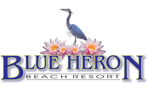 blue heron beach resort logo