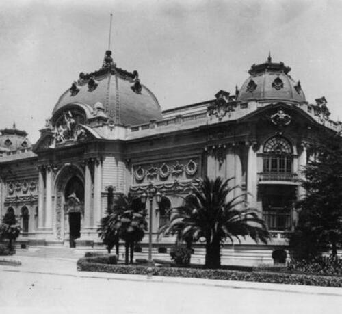Fine arts museum Santiago