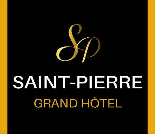 The logo of Grand Hôtel Saint-Pierre