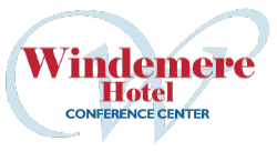 Windemere Hotel & Conference Center logo.