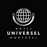 Hotel Universel Montreal logo.