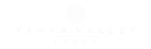Yarra Valley Lodge Logo - White
