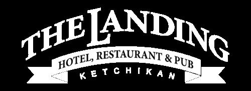 The Landing Hotel logo.