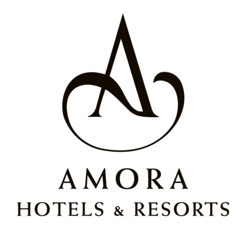 Amora Hotels & Resorts Logo - Black