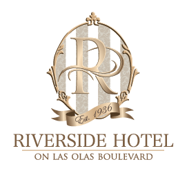 logo of riverside hotel