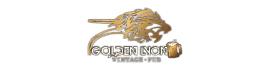 logo of golden lyon vintage pub