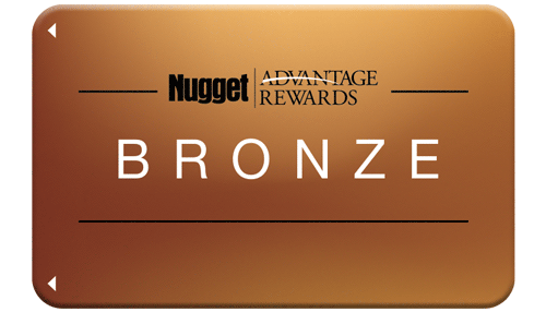 Bronze Nugget Advantage Rewards Card
