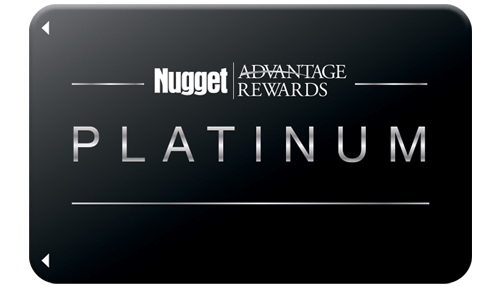 Platinum Nugget Advantage Rewards Card