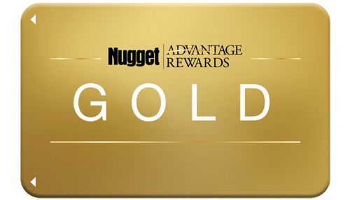 Gold Nugget Advantage Rewards Card
