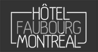 Hotel Faubourg Montreal logo