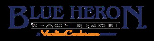 blue heron beach resort vacation condos logo