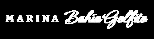 Marina Bahia Golfito logo in white