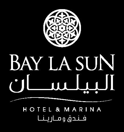 Bay La Sun Hotel & Marina Logo in white