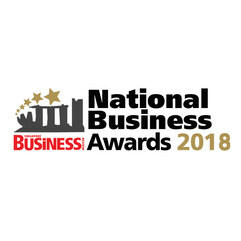 Logo of national business awards 2018