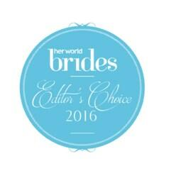 Logo of Her World Brides Awards