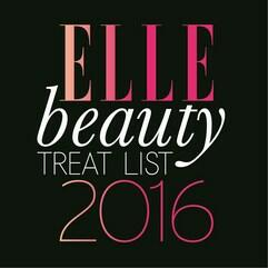 Logo of Elle beauty treat list 2016