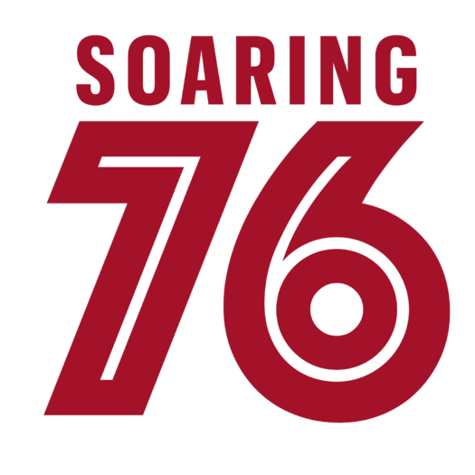 Soaring 76 logo