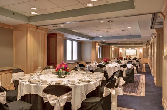 Banquet rounds set for event