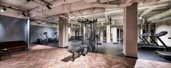 Gym and Fitness room at Hotel Hubert Brussels near Grand Place
