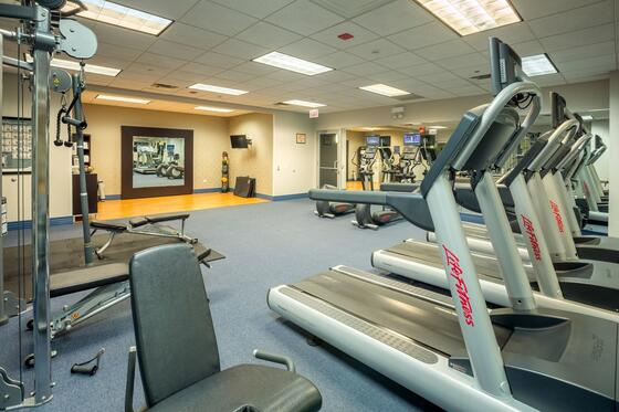 Fitness Room Interior