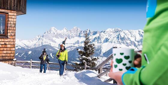Skifahren im Schloss Pichlarn