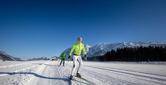 Cross-country Skiing at Romantik Hotel Schloss Pichlarn, Austria