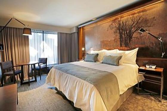 habitacion matrimonial hotel cumbres lastarria