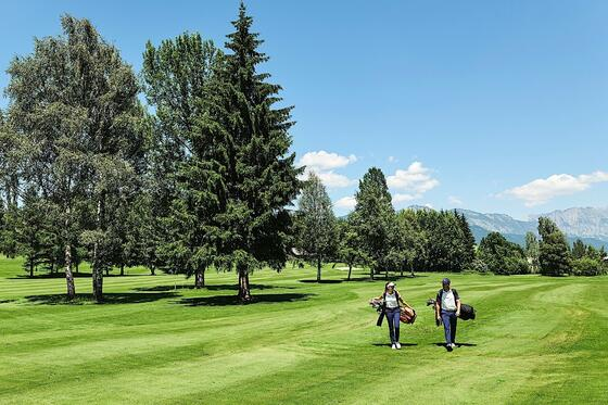Golf at Romantik Hotel Schloss Pichlarn, Austria