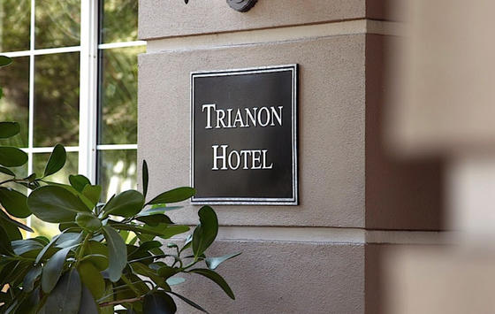 trianion sign outside