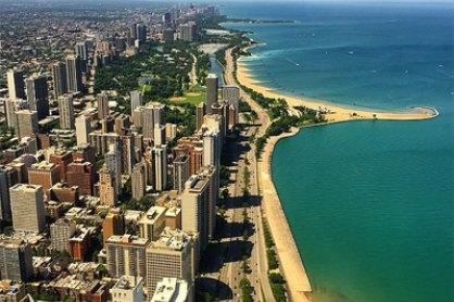 Chicago Coastline View