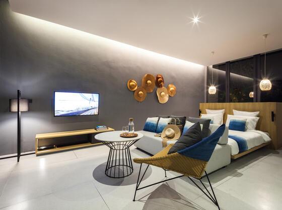 X2 Pattaya Oceanphere 1 Bedroom Villa - Bedroom